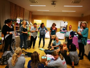 Workshop der Firma Hoppediz